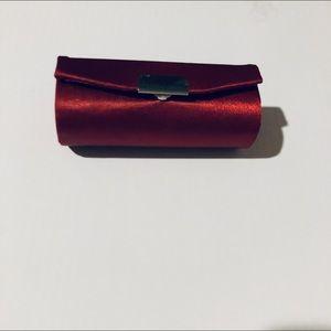 Accessories - Lipstick Case Red Satin
